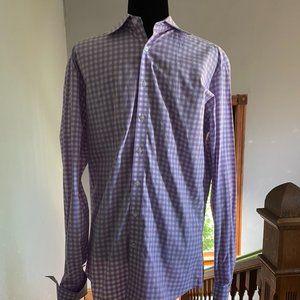 Thomas Pink French Cuff Shirt -- Size 16 * 34 1/2